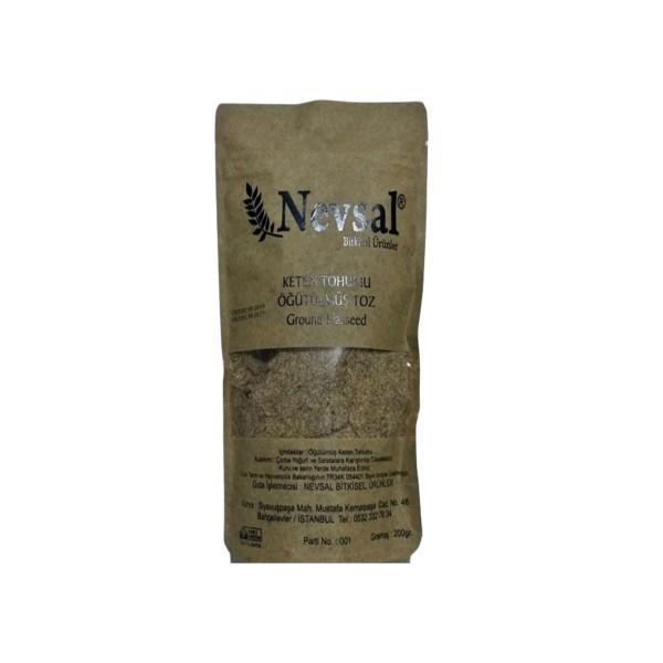 Nevsal Keten Tohumu Öğütülmüş Toz 200 Gram