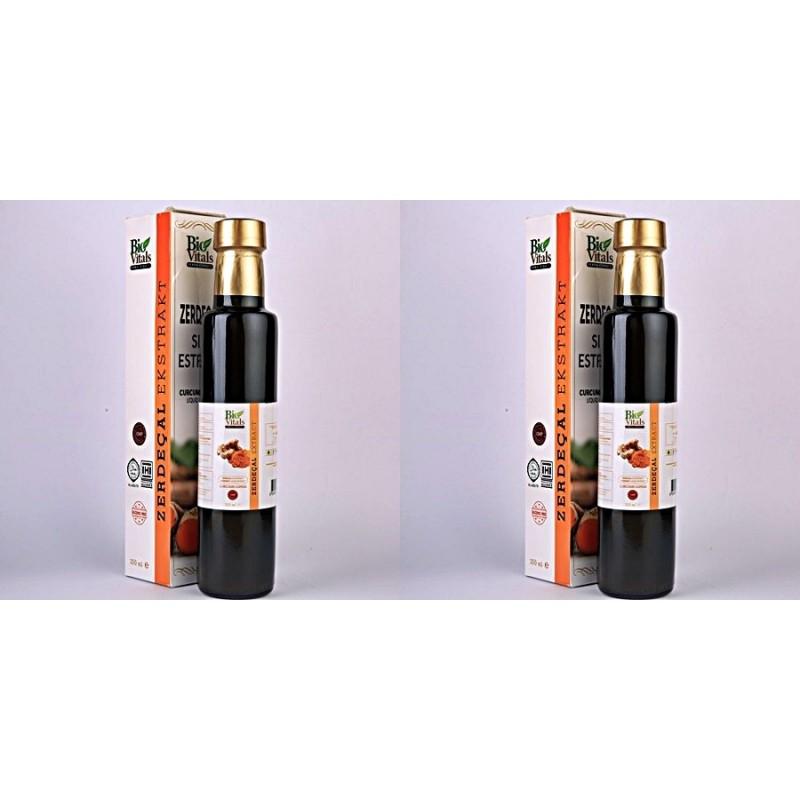 Bio Vitals Zerdeçal Sıvı Ekstrat 250 ml 2 adet