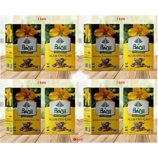 Dr. Banji Açlık Otu Süzen Poşet Çay 4'lü 40 x 1.5 G