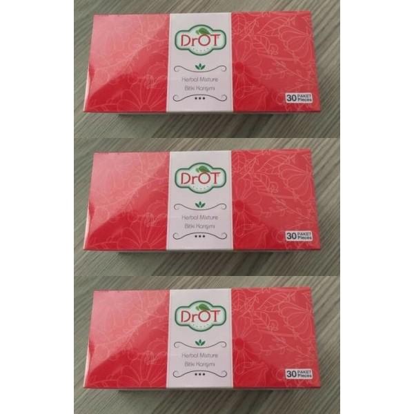 Drot Herbal Mixture Bitki Karışımı Çay 30 Paket 3 kutu