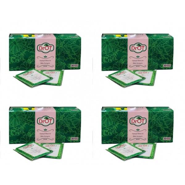 DrOT Enginar Ekstraktlı Detox Bitki Karışımı Poşet Çay 4'lü 30 x 1.3 G
