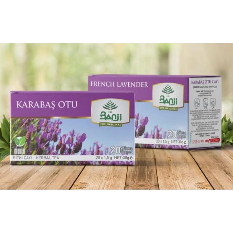 Dr. Banji Karabaş Otu Bitki Süzen Poşet Çay 20 x 1.5 G