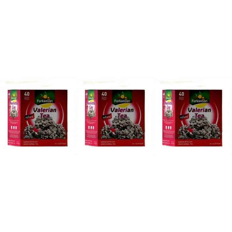 Furkan Sarı Kediotlu Karışık Bitki Süzen Poşet Çay 3'lü 40 x 1.5 G