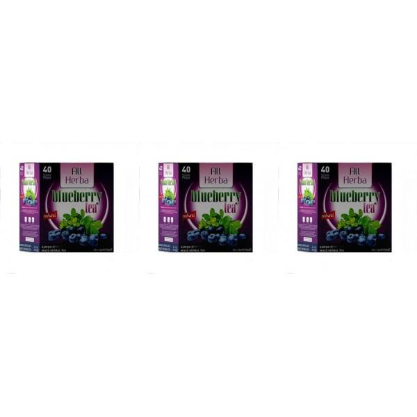 All Herba Yaban Mersini Karışık Bitki Süzen Poşet Çay 3'lü 40 x 1.5 G