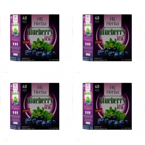 All Herba Yaban Mersini Karışık Bitki Süzen Poşet Çay 4'lü 40 x 1.5 G