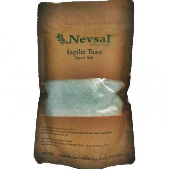 Nevsal İçelebilir İngiliz Tuzu  200 Gram