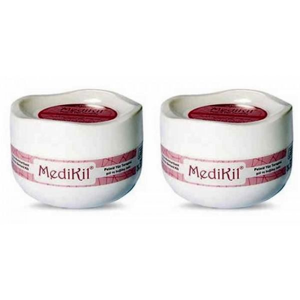 Medikil Peloid Yüz Terapisi/Gül ve Buğday Özlü Krem 2 Adet