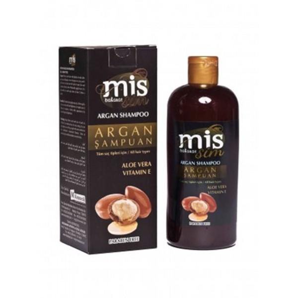 Mis Baharat Argan Şampuan Aloe Vera Vitamin E Paraben İçermez 400