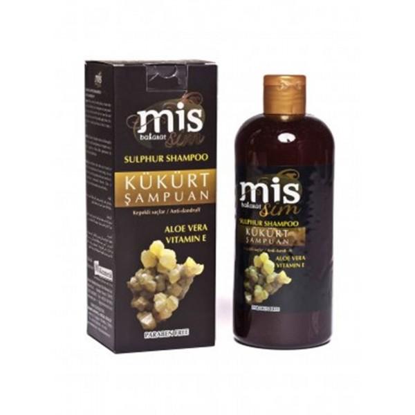 Mis Baharat Kükürt Şampuan Aloe Vera Vitamin E Paraben İçermez 40