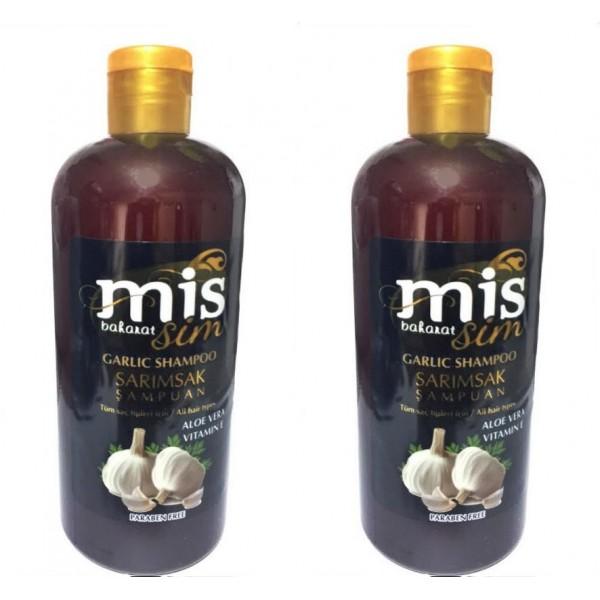 Mis Baharat Sarımsak Şampuan Aloe Vera Vitamin E Paraben Yok 400