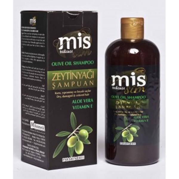 Mis Baharat Zeytin Yağı Şampuan Aloe Vera Vitamin E Paraben İçerm