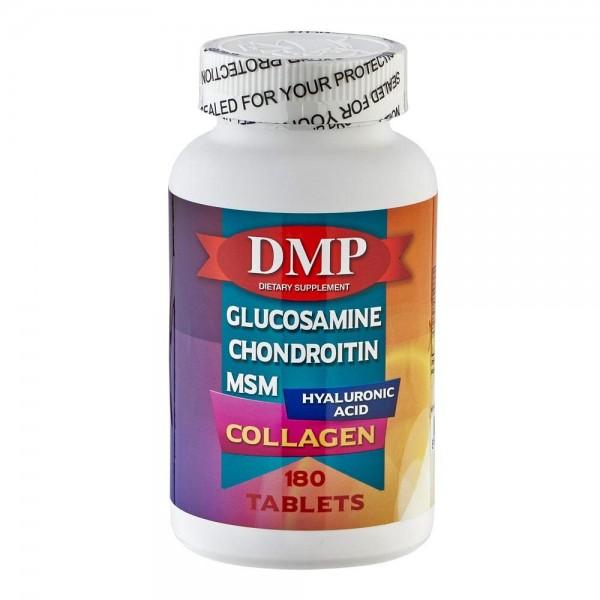 DMP Glucosamine Chondroitin Msm Hyaluronic Acid Collagen 180 Tabl