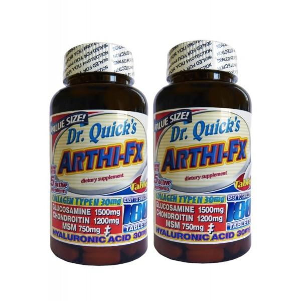Dr Quicks Arthi-fx Glucosamine Chondroitin Msm Hyaluronic acid 180 Tablet