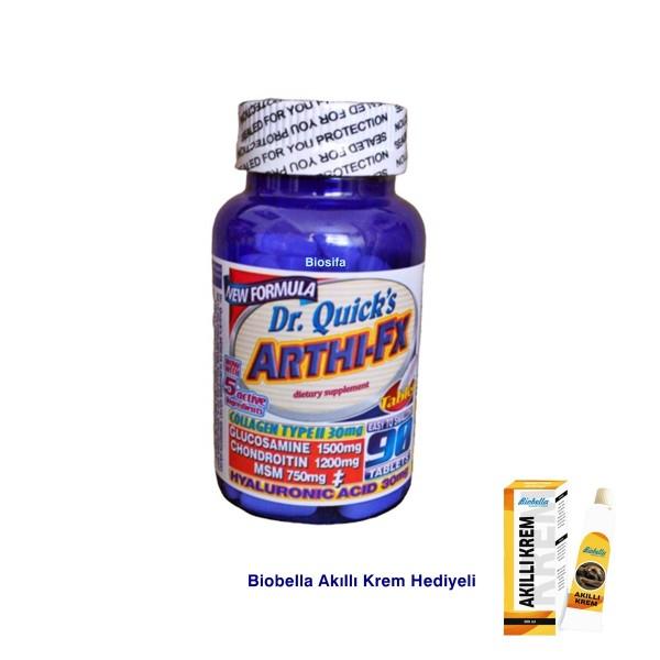 Dr Quicks Arthi-fx Glucosamine Chondroitin Msm Hyaluronic acid Kolajen Tip2 90 Tablet