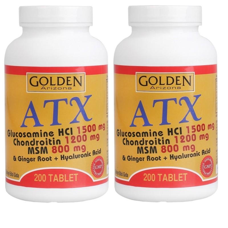 Golden Arizona ATX Glucosamine Chondroitin Msm Hyaluronik Acid 200 Tablet