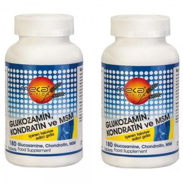 Meka Nutrition Glukozamin Kondratin Msm 180 Tablet 2 kutu
