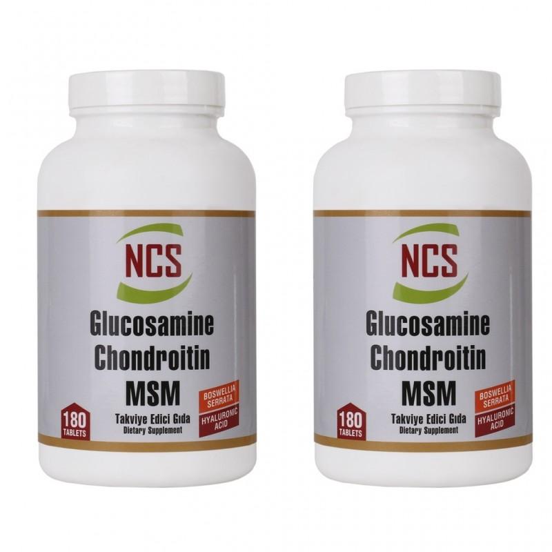 Ncs Glucosamine Chondroitin MSM Hyaluronic Acid Bosvella 360 Tab