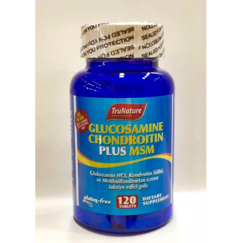 Trunature Glucosamine Chondroitin Plus Msm 120 Tablet