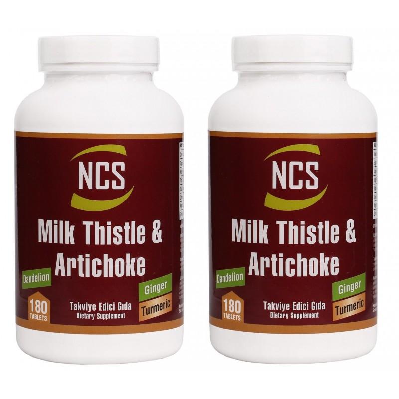 Ncs Milk Thistle Artichoke Zerdeçal Karahindiba Zencefil 180 Tab.