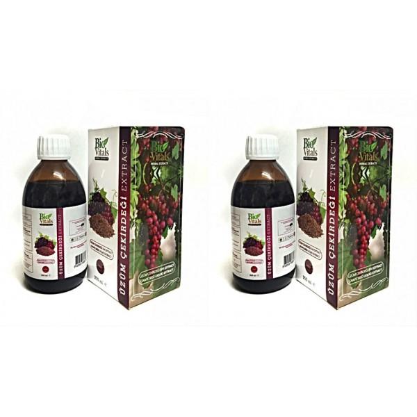 Bio Vitals Üzüm Çekirdeği Ekstrat 250 ml 2 adet