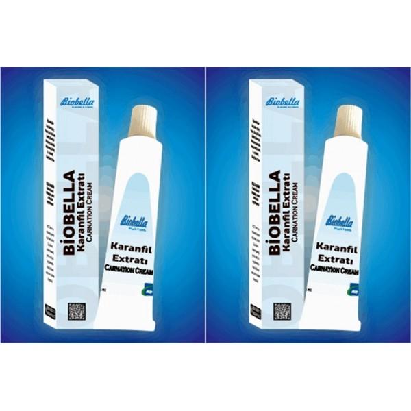 Biobella Karanfil Extratı Carnation Cream 2 kutu