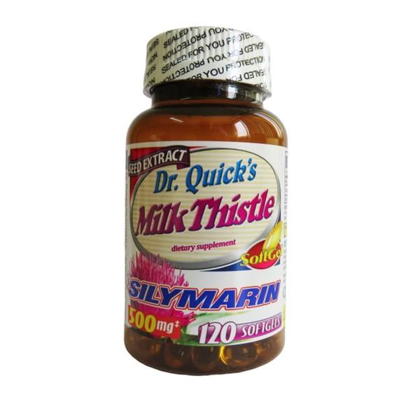 Dr Quicks Milk Thistle 500 mg 120 softgels