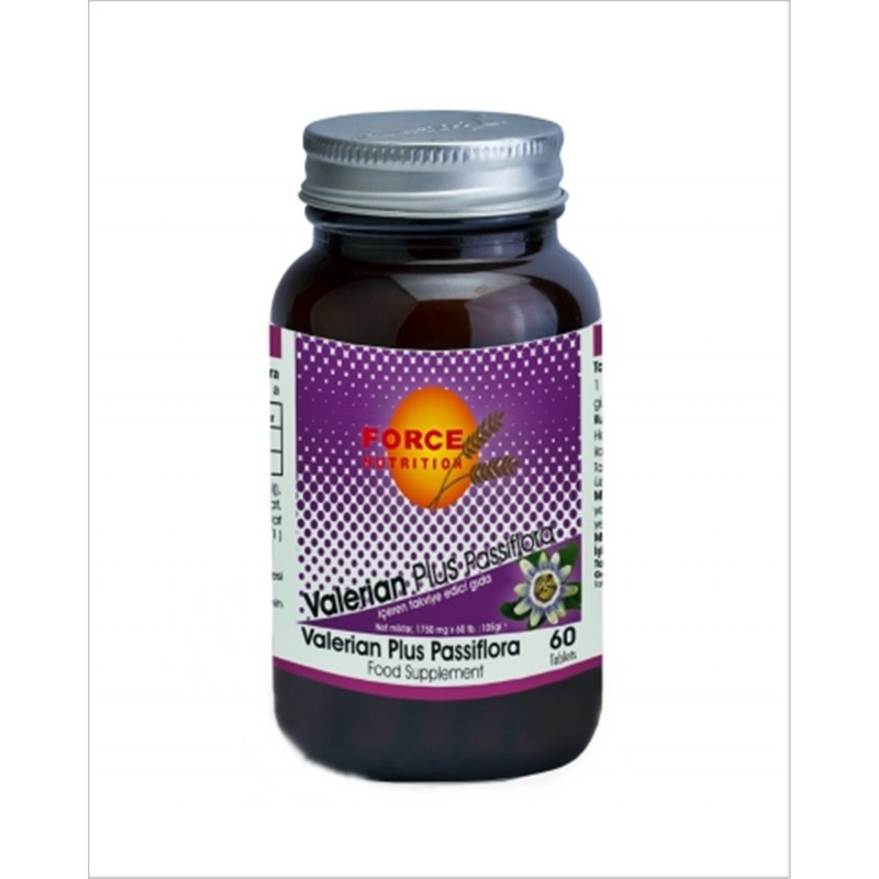 Force Nutrition Valerian Plus Passiflora 60 Tablets