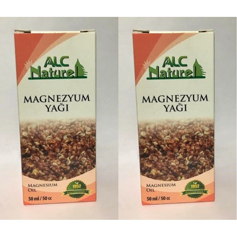 Magnezyum Yağı 50 ml 2 Kutu
