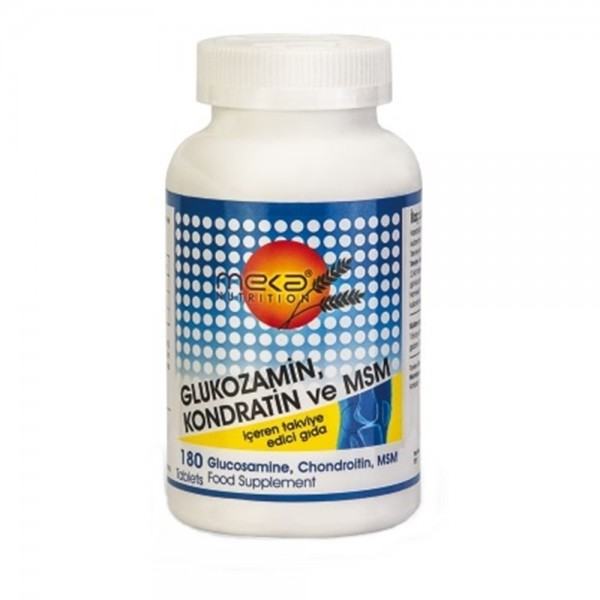 Meka Nutrition Glukozamin Kondratin Msm 180 Tablet
