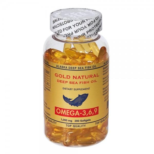 Gold Natural Omega 3.6.9 200 softgels