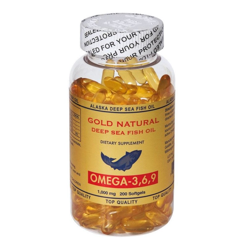 Gold Natural Omega 3.6.9 200 softgels