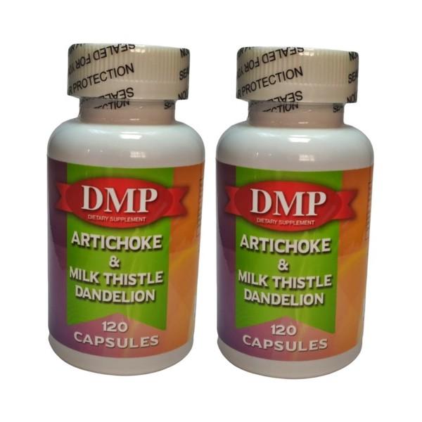 Dmp Artichoke Milk Thistle Dandelion 120 Kapsül 2 Kutu