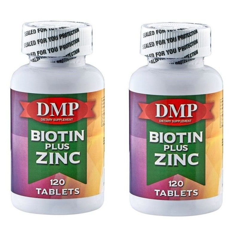 Dmp Biotin Plus Zinc 120 Tablets 2 Kutu