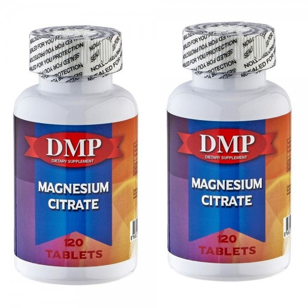 Dmp Magnesium Citrate 120 Tablet 2 Adet