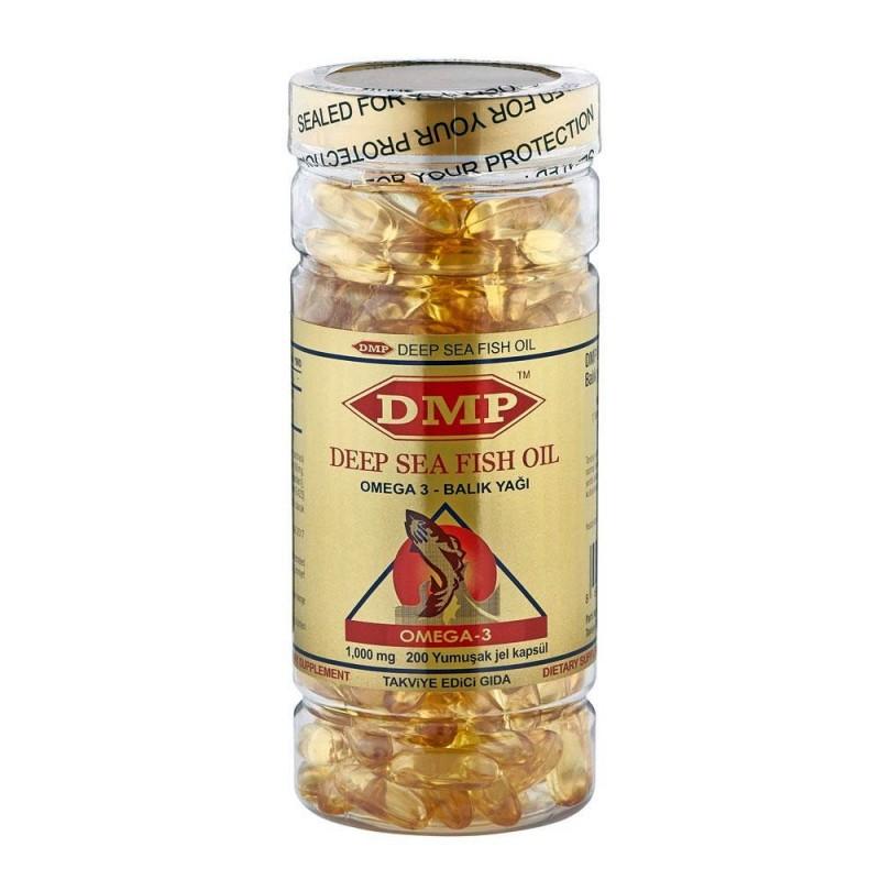 DMP Omega 3 Balık Yağı 200 Softgel