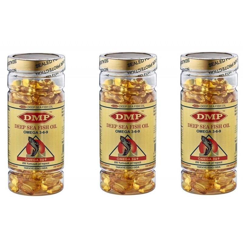 Dmp Omega 3.6.9 200 Softgel 3 Kutu
