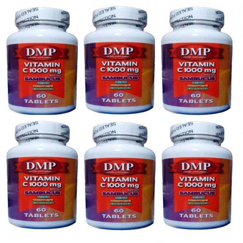 Dmp Vitamin C 1000 mg Çinko Kara Mürver Cordyceps Ekinezya 60 Tablet