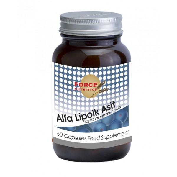 Force Nutrition Alfa Lipoik Asit 600 mg 60 Kapsü