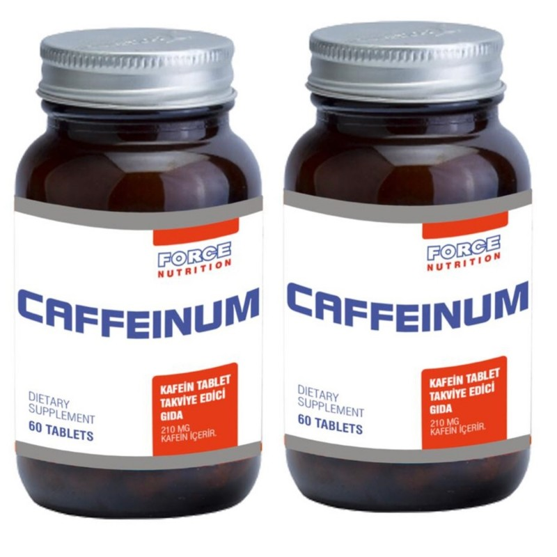 Force Nutrition Caffenium 60 Tablet 2 Adet