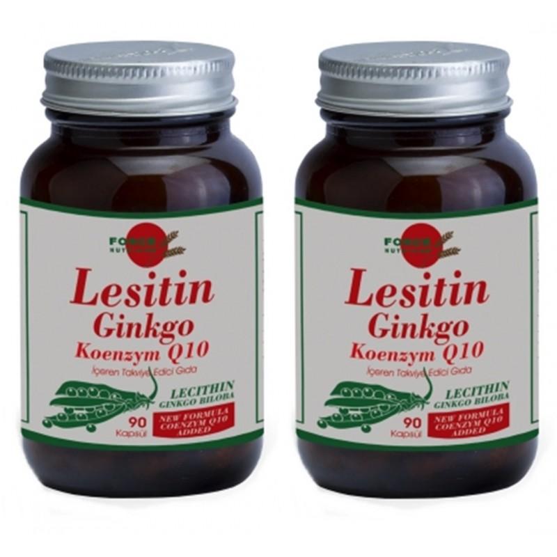 Force Nutrition Lesitin Ginkgo Koenzym q 10 90 Kapsul