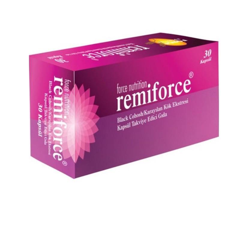 Force Nutrition Remiforce 30 Kapsül