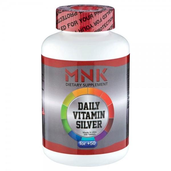 Mnk Daily Vitamin Silver 50 Yaş Üzeri 200 Tablet