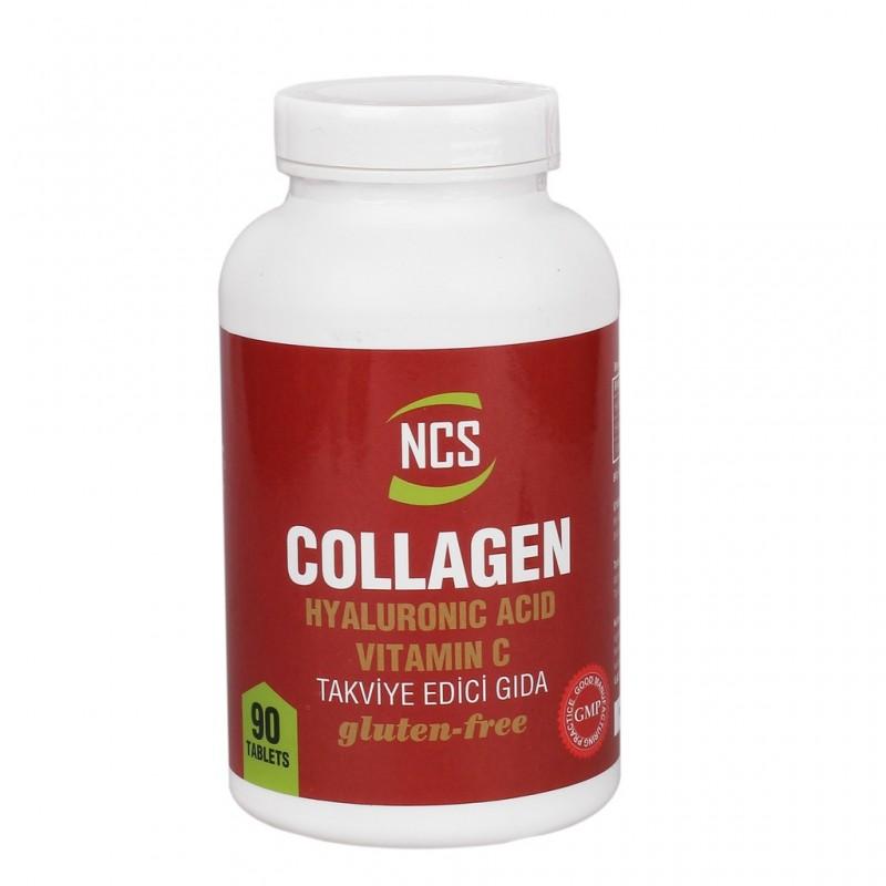Ncs Hidrolize Collagen 1000 Mg Hyaluronic Acid C vitamini 90 Tabl