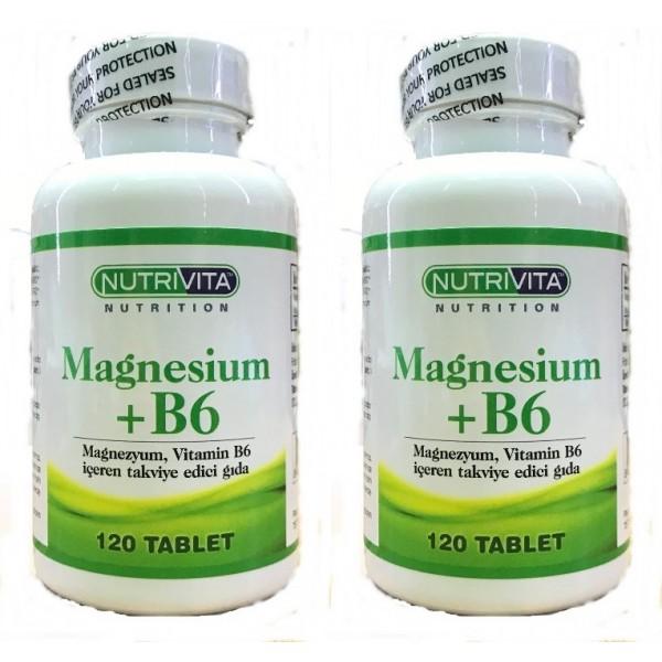 Nutrivita Magnesium  B6 Vitamin 120 Tablet
