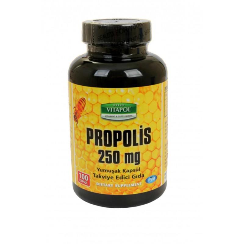 Vitapol Propolis Arı Sütü Polen 250 mg 100 Kapsül
