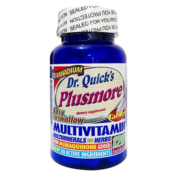 Dr Quicks Plusmore Multi Vitamin Mineral 120 Tablet