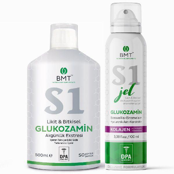 Biomet S1 Likit Bitkisel Glucosamine ve S1 Glucosamine Jel