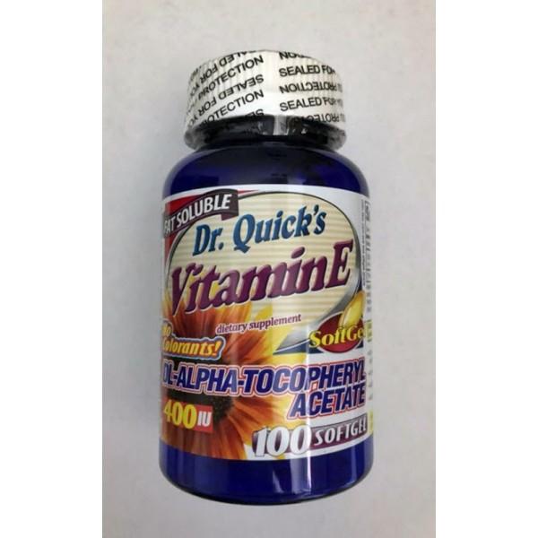 Dr.Quick's Vitamin E 268 mg 100 softgels