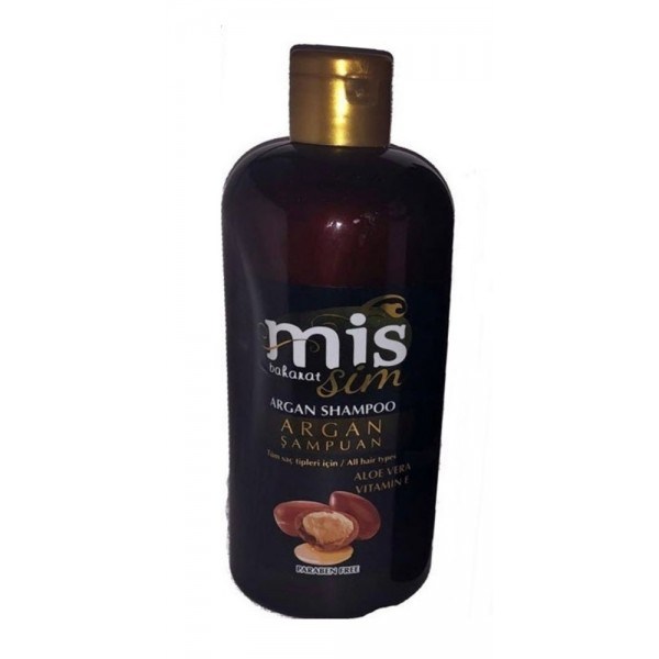 Mis Baharat Argan Şampuan Aloe Vera Vitamin E Paraben İçermez 400 ml