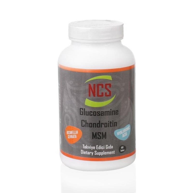 Glucosamine Chondroitin MSM Hyaluronic Acid Bosvella 180 Tablet